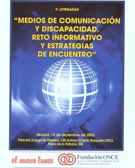 Portada Medios de comunicación y discapacidad. Reto informativo y estrategias de encuentro