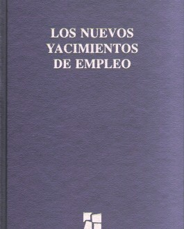 Portada del libro La economía social y los nuevos yacimientos de empleo