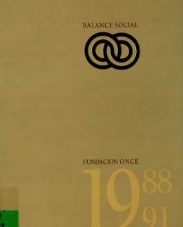 Memoria de Fundación ONCE (1988-1991)