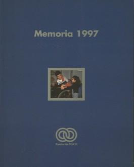 Portada Memoria de Fundación ONCE (1997)