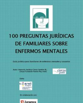 Portada 100 preguntas jurídicas de familiares sobre enfermos mentales