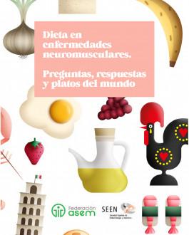 Portada Dieta en enfermedades neuromusculares. Preguntas, respuestas y platos del mundo