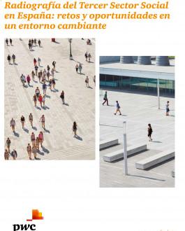 Portada del Libro Radiografía del Tercer Sector Social en España: retos y oportunidades en un entorno cambiante