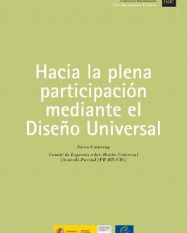 Portada Hacia la plena participación mediante el diseño universal