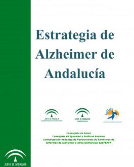 Portada del Libro Estrategia de Alzheimer de Andalucía