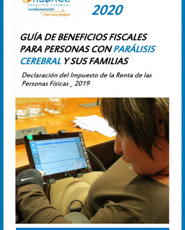 Portada Guía de beneficios fiscales para personas con parálisis cerebral y sus familias