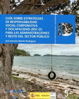 Portada del Libro Guía sobre estrategias de responsabilidad social corporativa y discapacidad (RSC-D) para las administraciones y resto del sector público