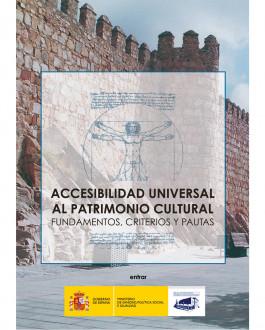 Portada CD Accesibilidad universal al patrimonio cultural: fundamentos, criterios y pautas