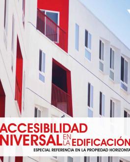 Portada La accesibilidad universal en la edificación. Especial referencia en la propiedad horizontal