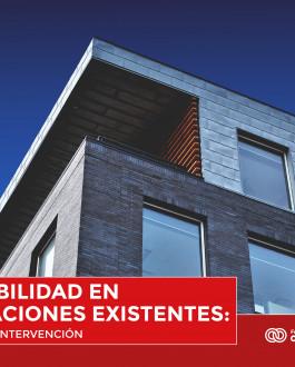 Portada Accesibilidad en edificaciones existentes: criterios de intervención
