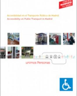Portada del libro accesibilidad en el transporte público de Madrid