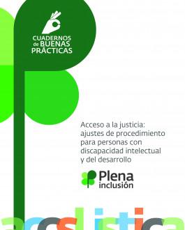 Portada Acceso a la justicia: ajustes de procedimiento para personas con discapacidad intelectual o del desarrollo