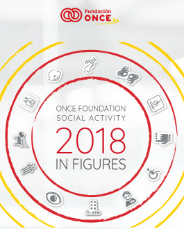 ONCE Foundation Social Activity 2018 in figures