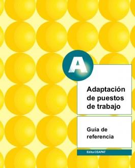 Portada del libro adaptación de puestos de trabajo: guía de referencia