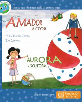 Portada Amador actor. Aurora locutora