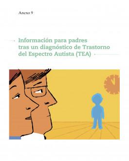Portada del Libro Información para padres tras un diagnóstico de Trastorno del Espectro Autista (TEA)