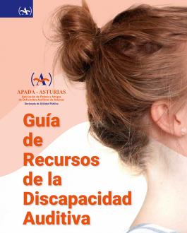 Portada Guía de recursos de la discapacidad auditiva (Principado de Asturias)