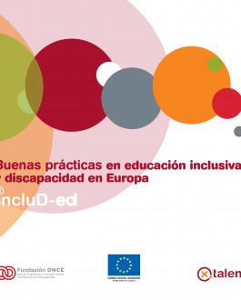 Portada Buenas prácticas en educación inclusiva y discapacidad en Europa