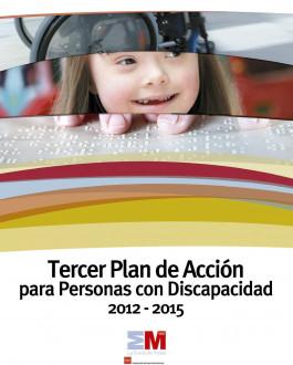 Portada Tercer plan de acción para personas con discapacidad 2012 - 2015