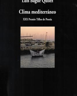 portada del libro Clima mediterráneo