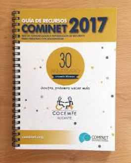 Portada Guía de recursos COMINET 2017