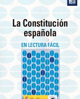 Portada del libro La constitución española adaptada a lectura fácil