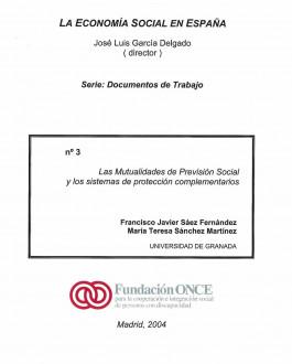 Portada Las mutualidades de previsión social y los sistemas de protección complementarios
