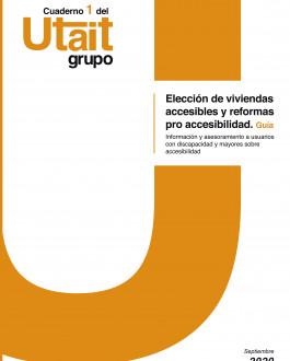 Portada Elección de viviendas accesibles y reformas pro accesibilidad. Guía. Información y asesoramiento a usuarios con discapacidad y mayores sobre accesibilidad