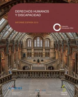 Cubierta Derechos humanos y discapacidad. Informe España 2019