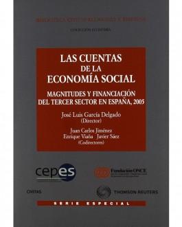 Portada del libroLas cuentas de la economía social: magnitudes y financiación del tercer sector en España, 2005