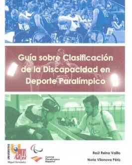 Portada del libroGuía sobre clasificación de la discapacidad en deporte paralímpico