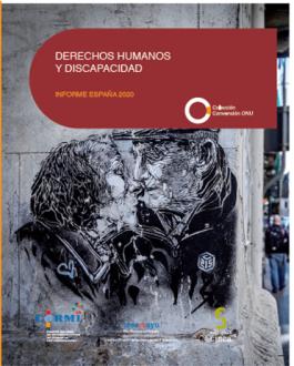 Portada Derechos humanos y discapacidad. Informe España 2020