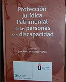 Portada Protección jurídica patrimonial de las personas con discapacidad