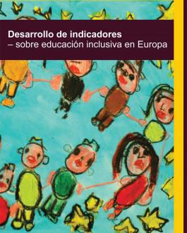 Portada Desarrollo de indicadores sobre educación inclusiva en Europa