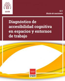 Portada Diagnóstico de accesibilidad cognitiva en espacios y entornos de trabajo