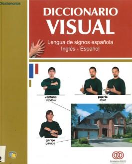 Portada del Libro Diccionario visual. Lengua de signos española inglés-español