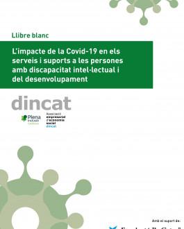 Portada L'impacte de la Covid-19 en els serveis i suports a les persones amb discapacitat intel·lectual i del desenvolupament