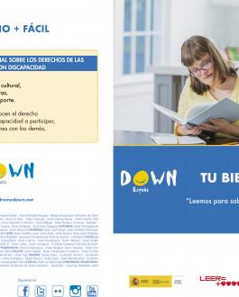 Portada diptico Tú Biblio + Fácil