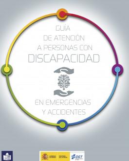 Portada Guía de atención a personas con discapacidad en emergencias y accidentes