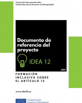 Portada Documento de referencia del proyecto. IDEA 12