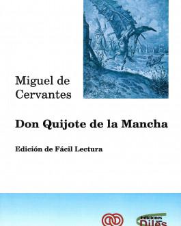 Portada Don Quijote de la Mancha. Edición de Fácil Lectura