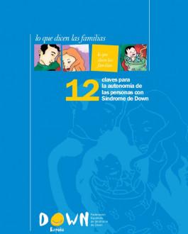 Cubierta 12 claves para la autonomía de las personas con síndrome de Down