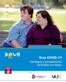 Portada Guía COVID-19. Estrategias y procedimientos de empleo con apoyo