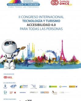 Portada II Congreso internacional tecnología y turismo accesibilidad 4.0 para todas las empresas