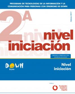 Portada del Libro Nivel iniciación del programa de tecnologías de la información y la comunicación para personas con Síndrome de Down
