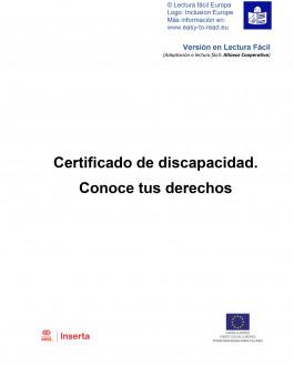 Certificado de discapacidad. Conoce tus derechos (lectura fácil)