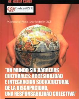 Portada del libro Un mundo sin barreras culturales: accesibilidad e integración sociocultural de la discapacidad, una responsabilidad colectiva