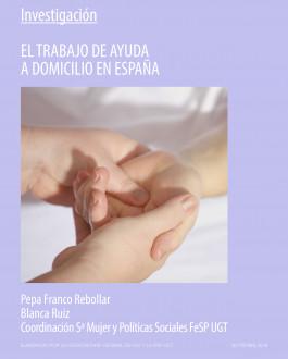 Portada El trabajo de ayuda a domicilio en España