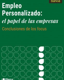 Portada Empleo Personalizado. El papel de las empresas, conclusiones de los focus