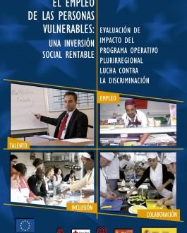 Portada del Libro El empleo de las personas vulnerables: Una inversión social rentable